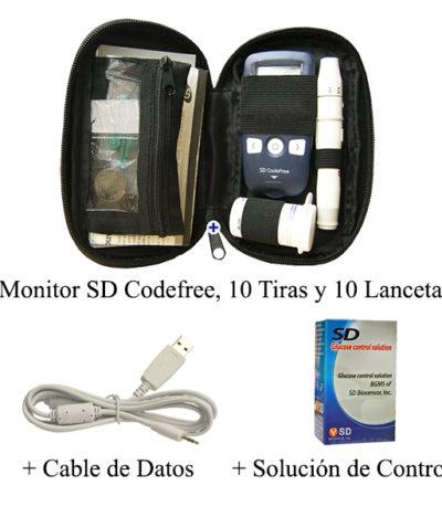 SD Codefree + Cable + Solución de Control