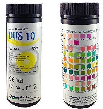 tiras reactivas de glucosa / diabetes para reactivos de orina