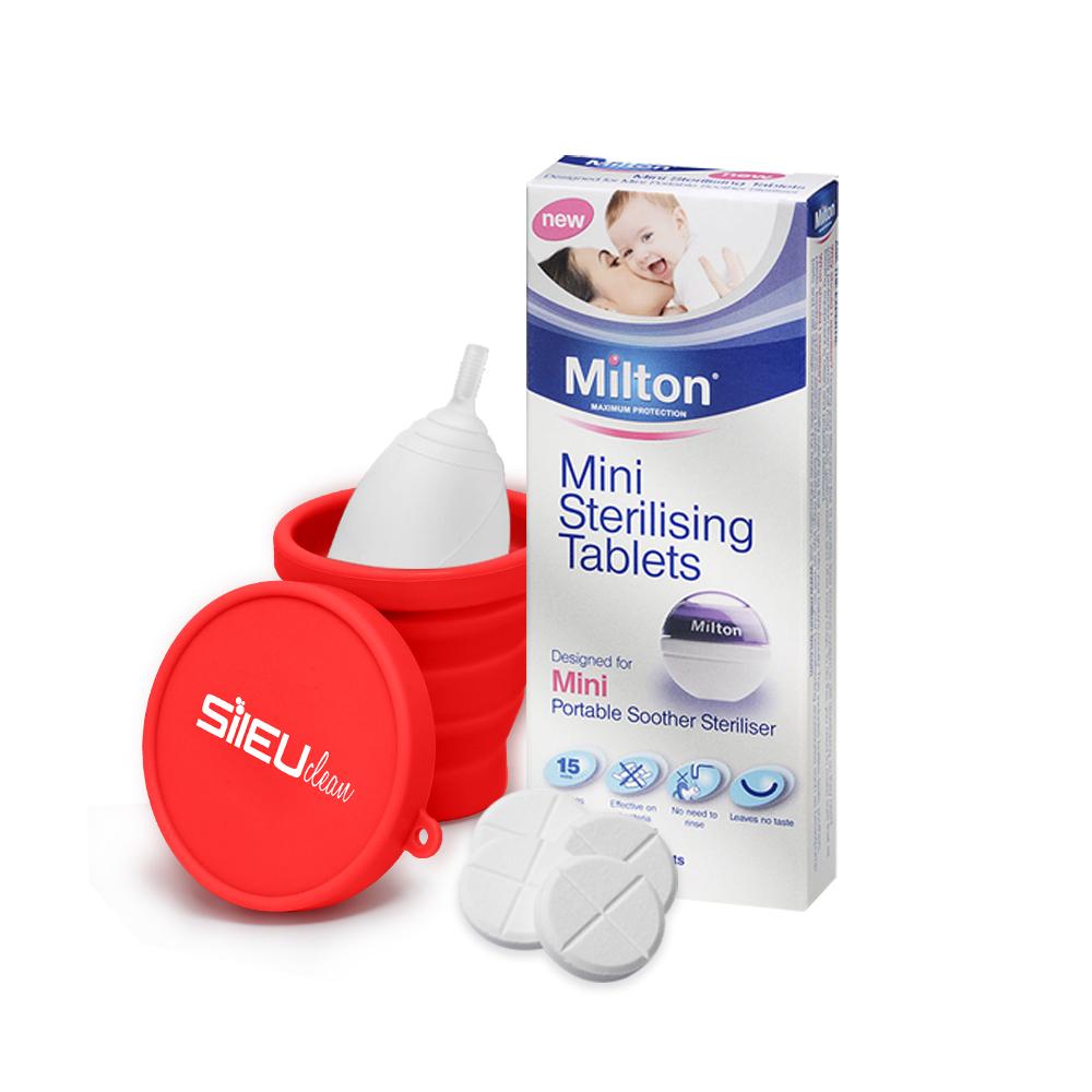 50 2 x Milton Esterilización tabletas Mini