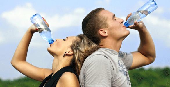 consumo de líquidos