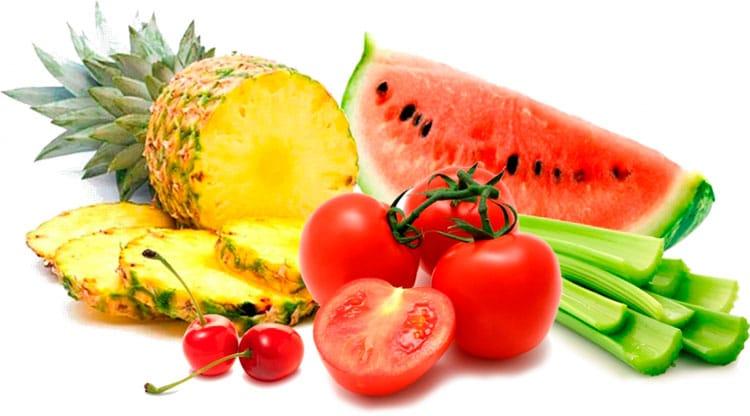 alimentos diuréticos utilizados en infección de orina